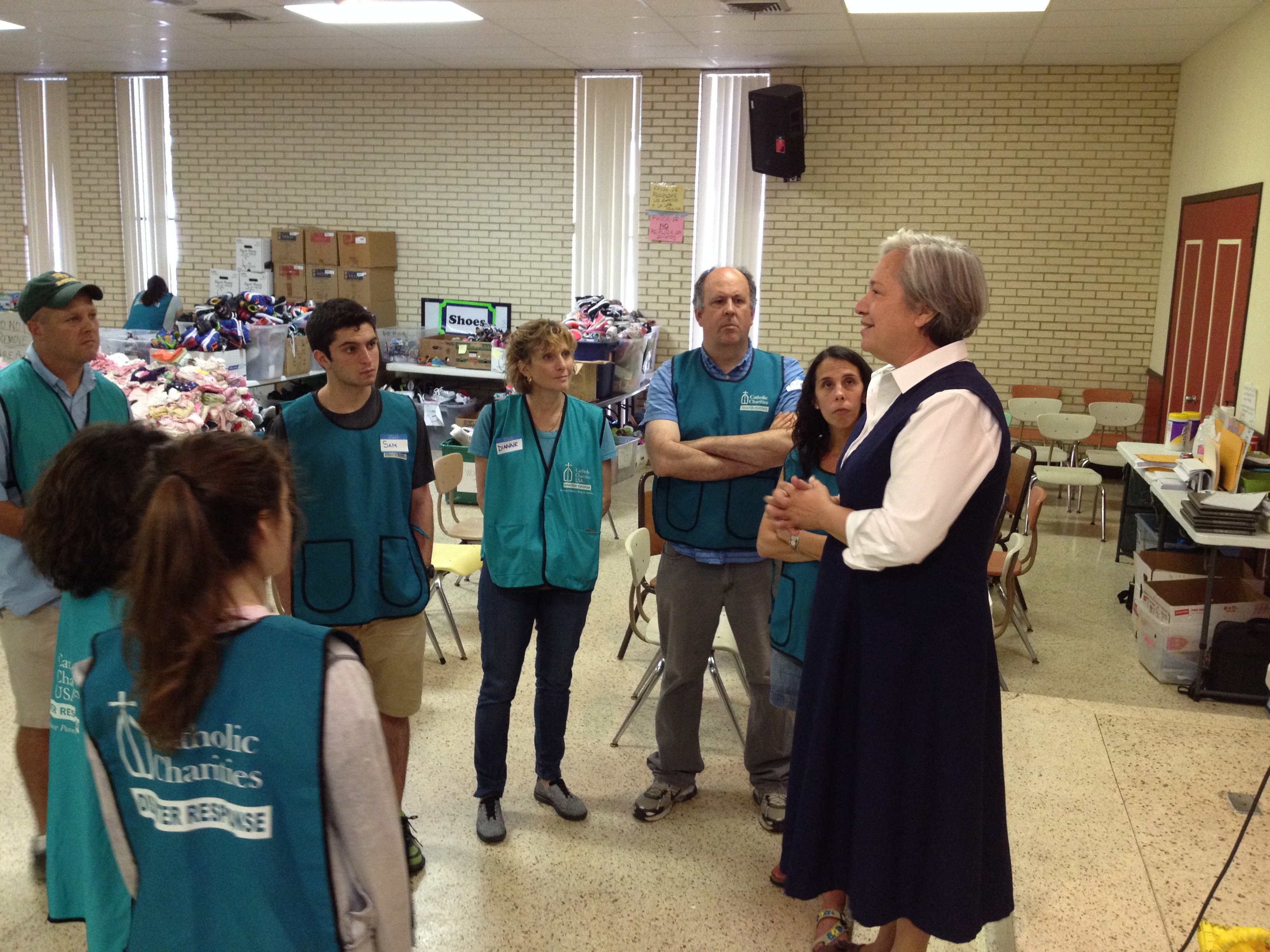 Sister Norma with Sinai Group