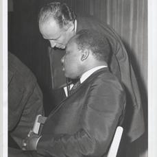 Everett MLK talking rabbinical assembly