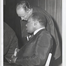 Everett MLK talking rabbinical assembly