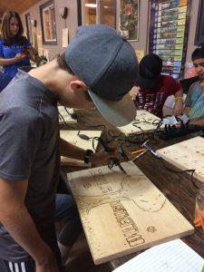 woodburning individual