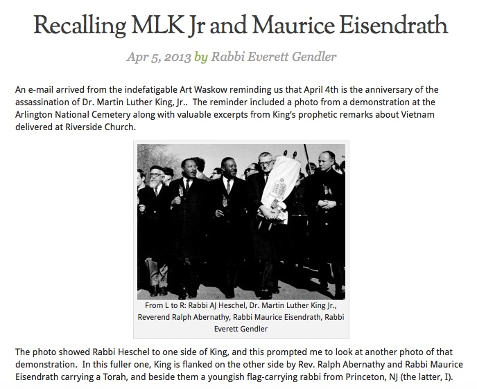 Everett MLK Blog Post 2013