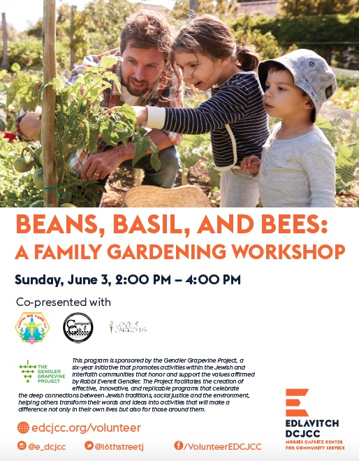 Family workshop flyer EDCJCC